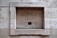 Hospice de la Charité - Français:   tronc pour les pauvres de la charité 1762,Mâcon,Hospice de la Charité