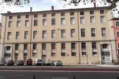 Hospice de la Charité - Français:   façade rue Nationale