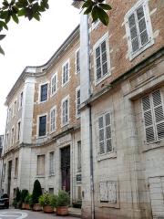 Hospice de la Charité - Français:   Mâcon - Hospice de la Charité - Façade rue Carnot
