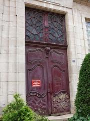 Hospice de la Charité - Français:   Mâcon - Hospice de la Charité - Porte au 249 rue Carnot