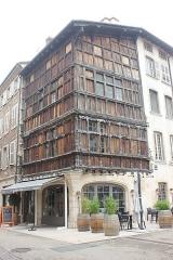 Immeuble dit La maison de Bois - Polski:   Mâcon - Maison de Bois