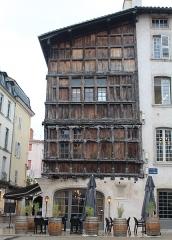 Immeuble dit La maison de Bois - Français:   Maison de Bois, Mâcon.