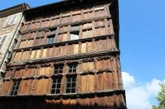 Immeuble dit La maison de Bois - Français:   Maison de bois à Mâcon.