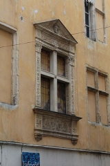 Maison - Français:   Maison de la rue Saint-Nizier à Mâcon.