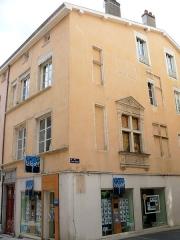Maison - Français:   Mâcon - Maison à l\'angle de la rue Saint-Nizier et de la rue Sigorgne