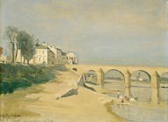Pont Saint-Laurent, sur la Saône -