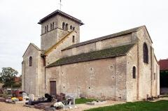 Eglise Notre-Dame de la Nativité -  Église romane de Malay, Saône et Loire, Bourgogne, France