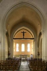 Eglise Saint-Nicolas -  Intérieur de l'église de Marcigny