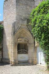 Château de Germolles - Nederlands: Germolles, Toegang  ontvangsthal