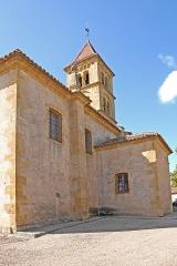 Eglise Saint-Pierre Saint-Paul - Deutsch: Sts-Pierre-et-Paul de Montceaux-l'Étoile, Grabkapelle, Sakristei von NO