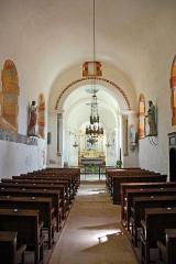 Eglise Saint-Pierre Saint-Paul - Deutsch: Sts-Pierre-et-Paul de Montceaux-l'Étoile, Schiff zum Chor