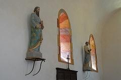 Eglise Saint-Pierre Saint-Paul - Deutsch: Sts-Pierre-et-Paul de Montceaux-l'Étoile, Langhausfenster