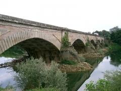 Pont -  Pont de Navilly sur le Doubs (71) - fin 18°s  self made PRA
