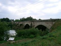 Pont -  Pont de Navilly sur le Doubs (71) - fin 18°siècle  self made PRA