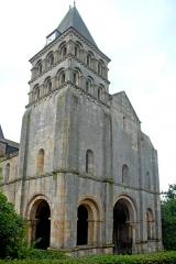 Eglise Saint-Pierre et Saint-Benoît - Deutsch: Abteikirche, Westwerk von W