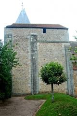 Eglise Saint-Pierre et Saint-Benoît - Deutsch: Prioratskirche, Westwerk von SO
