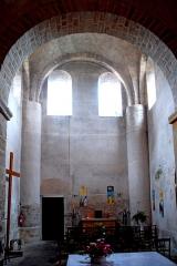 Eglise Saint-Pierre et Saint-Benoît - Deutsch: Prioratskirche, nordwestl. Querschiffarm, aus Vierung