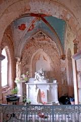 Eglise Saint-Pierre et Saint-Benoît - Deutsch: Prioratskirche, nordwestl. Chorseitenschiff