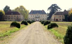 Château de Terrans - Deutsch: Schloss von Terrans bei Pierre-de-Bresse