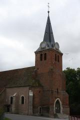 Eglise - Deutsch: Pierre-de-Bresse Kirche von Norden