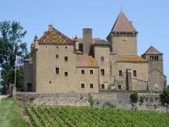 Château -  Le château de Pierreclos - Photo amateur prise par moi-même