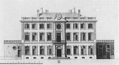 Château - Deutsch: Nordfassade des Schlosses Rosey, Saône-et-Loire