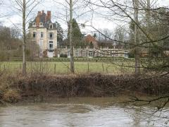 Château de la Ferté-sur-Grosne, ancienne abbaye cistercienne -  château de la Ferté - Saint-Ambreuil (Saône-et-Loire)