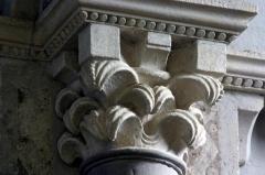 Eglise à l'exception du beffroi et de la nef -  Chapiteau du Choeur de l'église de Saint-Bonnet-de-Cray