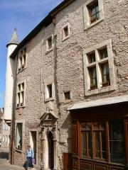 Maison dite des Concurés - Français:   Saint-Gengoux-le-National - Maison des Concurés rue du Commerce