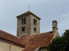 Eglise - Français:   Eglise de Saint-Huruge (71) - Clocher