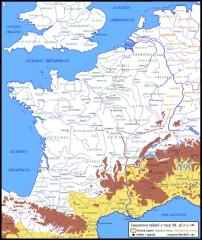 Oppidum du Mont-Beuvray, dit aussi oppidum de Bibracte (également sur commune de Glux-en-Glenne, dans la Nièvre) - Čeština: Caesarova kampaň v Galii v roce 58 př.n.l