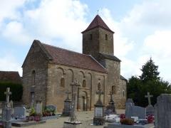 Eglise - Français:   Eglise de Saint-Maurice-des-Champs