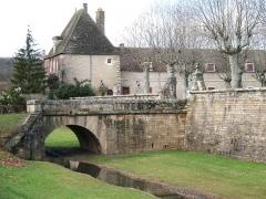 Château -  château de Sennecey-le-Grand (Saône-et-Loire)