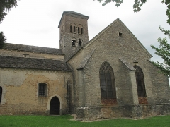 Eglise Saint-Julien - English: The church of Saint-Julien in Sennecey-le-Grand, Saône-et-Loire, France