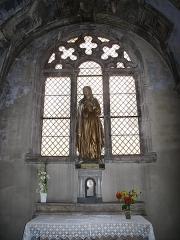 Eglise de la Madeleine - English: Interior chapel of Mary Magdalene, inside the the church Sainte-Madeleine in Tournus (Saône-et-Loire, France).