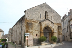 Eglise Saint-Valérien - Français:   Ancienne église Saint-Valérien de Tournus.