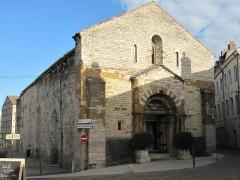 Eglise Saint-Valérien - English:   Overview of the church Saint-Valerien in Tournus (Saône-et-Loire, France).