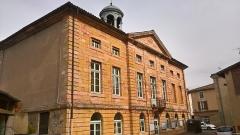 Hôtel de ville - Français:   Tournus, arrière de l\'Hôtel de Ville,