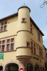 Maison dite de l'Escargot - Français:   Logis de l\'Escargot de Tournus.