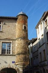 Maison dite de l'Escargot -  Tour de la Maison de l'Escargot à Tournus (Saône-et-Loire, France)