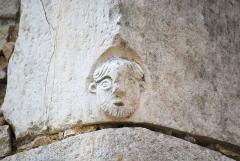 Niche avec statuette -  Niche avec statuette d'Uchizy