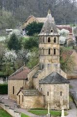 Eglise -  Chevet de l'église de Vareilles