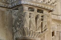 Eglise -  Chapiteau du choeur de l'église de Vauban