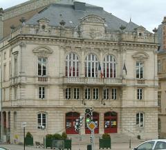 Théatre -  Autun, théâtre, Bourgogne, FRANCE
