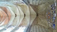 Ancienne cathédrale Saint-Etienne - Voute de la nef de la Cathédrale Saint-Étienne, Auxerre