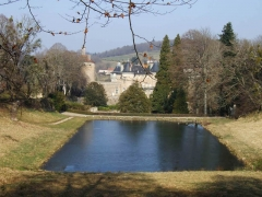 Château de Chastellux -  Chastellux vue est