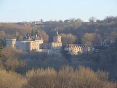 Château de Chastellux -  Chastellux vue ouest