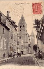 Eglise Saint-Valérien - Français:   Chitry le fort et son église vue de la grande rue