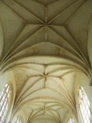 Eglise Saint-Loup - Voûtes du chœur de l'église Saint-Loup à Courlon-sur-Yonne (89).