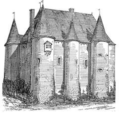 Château - Deutsch: Schloss Domecy-sur-Cure